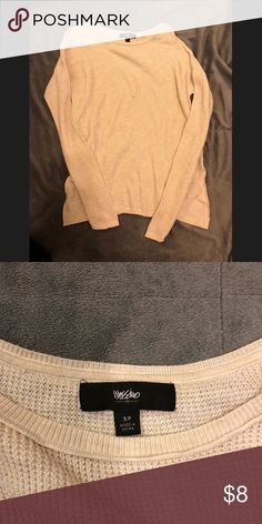 Thermal Shirt Cute shirt. Hi-low style. Good condition Tops