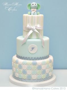 Elegant Baby Shower Cakes | baby shower cake. simple and elegant!
