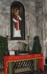 Saint Valentine - Shrine of St. Valentine in Whitefriar Street Carmelite Church in Dublin, Ireland Catholic Saints, Patron Saints, Catholic Churches, Stuff To Do, Things To Do, Cool Stuff, Courtly Love, San Valentin Ideas, Pagan Festivals