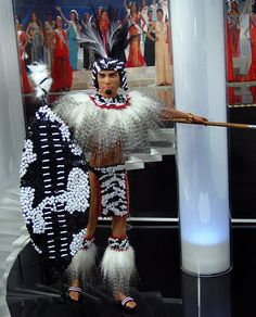 "Swaziland ""Shaka Zulu"" Ken, fashion doll made by Ninimomo.  I wonder how many Zulus buy this doll?"