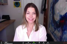 How To Rock A Zoom or Videoconference - Mommy Greenest Ghost In The Machine, Look In The Mirror, Your Photos, Things That Bounce, Rock, Skirt, Locks, The Rock, Rock Music