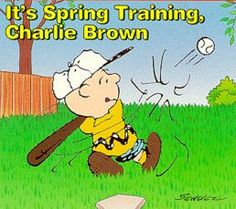 picture of Charlie Brown playing baseball | It's Spring Training, Charlie Brown - Peanuts Wiki