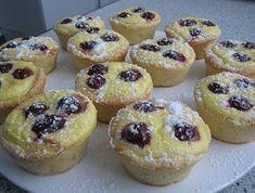 rýchle tvarohové muffinky
