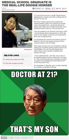 Doctor at 21 years of age. Problem?