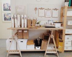 Studio storage vibes... Ikea