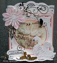 Voorbeeldkaart - verjaardagskaart - Categorie: Stansapparaten - Hobbyjournaal uw hobby website