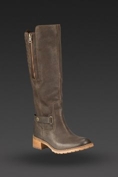 image of Women's Earthkeepers Apley Tall Boot in Dark Brown