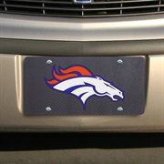 Denver Broncos License Plate License Tag Diamond Plate Look ...