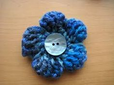 small crochet flower pattern free - Google Search