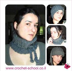 How to crochet a neck warmer tutorial   http://www.youtube.com/watch?v=Vd9XLcEIXEk