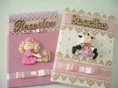 Cadernos de Receitas | Family Atelier - mimos personalizados | 30E85A - Elo7
