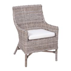 Found it at Wayfair - La Crosse Dining Arm Chair with Cushion