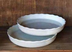 Creamware Tart Pan : Perfectly Imperfect  http://www.perfectlyimperfectshop.com/store/creamware-tart-pan/dp/859