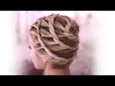 ▶ Trendy spiral updo - everyday hairstyle for medium long hair - tutorial fall 2013 - YouTube