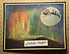 A beautiful Christmas scene.http://agypsyangel.blogspot.com/2015/12/a-little-holiday-magic.html