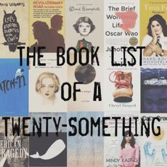 """Book list bucket list of a 20 year old - I've read 2 of these recently, and a couple of them were """"read"""" in high school. Definitely going to read some of these"""
