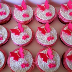 Butterfly cupcakes :)