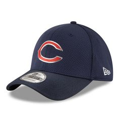 Chicago Bears New Era Youth Color Rush 39THIRTY Flex Hat - Navy da45292fd9d
