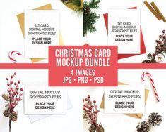 Christmas Greeting Cards, Christmas Greetings, Christmas Baubles, Christmas Stockings, Jw Printables, Babys 1st Christmas, Personalized Christmas Gifts, Mockup, Your Design