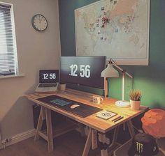 """3,738 curtidas, 18 comentários - WorldCode Community (@worldcode) no Instagram: """"@setuptour_ - Home office workspace /// #SetupTour⠀ ⠀ Source: @alexdixonco⠀ #ultrawide #macbookpro…"""""""
