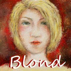 Goldヘアーの女性をお絵描きしてみました。  IVETE SANGALO - SE EU NÃO TE AMASSE TANTO ASSIM http://youtu.be/tlavXSWjwFc