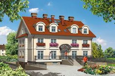 Projekt domu Mój Dom Hebe - DOM BM4-10 - gotowy projekt domu