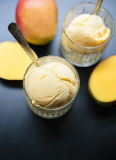 Homemade mango lassi frozen yogurt! cookieandkate.com
