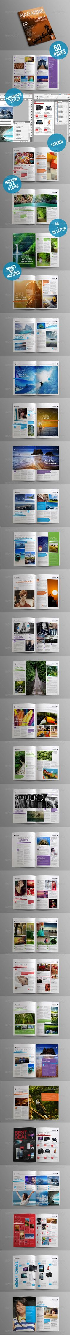 letter format for loan%0A Business Magazine Template A    Letter     pages   Magazine template   Templates and Magazines