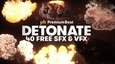 PremiumBeat is giving away 15 free explosion elements and 25 explosive sound effects, all perfect for video editors and motion designers. Explosion Sound, Audio Post Production, Free Sound Effects, Film Tips, Free Trailer, After Effect Tutorial, Film School, Lightroom Tutorial, Graphic Design Tutorials