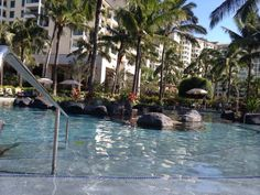 Gorgeous pools at the Marriott Ko Olina Beach Club. Family holidays don't get much better than this!