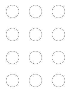 piping guide print copy and enlarge on copy machine to 1 circles for small macarons 2. Black Bedroom Furniture Sets. Home Design Ideas