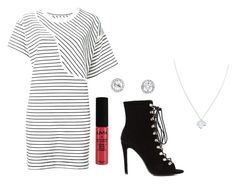 """""""Set"""" by alison-j-01 ❤ liked on Polyvore featuring MM6 Maison Margiela, Wolf & Moon and NYX"""