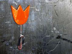 Haak Oranje tulp by Carmoli via DaWanda