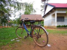 A bicycle seems to mean nothing to you if you are in America or Europe. But it means a future in third world country like Cambodia, where it helps bridge between education and remote dwellers.