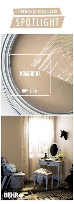 Farmhouse Paint Colors, Exterior Paint Colors For House, Paint Colors For Living Room, Paint Colors For Home, Kombucha, Paint For Kitchen Walls, Bathroom Paint Colors, Neutral Bathroom, Style At Home