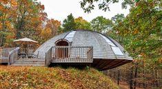 Das rotierende Rundhaus aus Holz - fresHouse