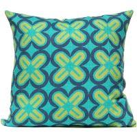 C's & X's - Ocean Pillow