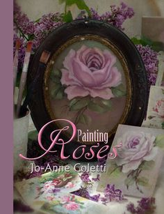 Painting roses, learn to paint flowers, oil painting,floral art, vintage rose art, oil painting classes, Marshfield, MA, JoAnne Coletti artist in vintage style paintings.