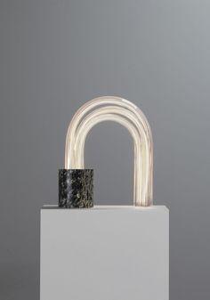 Spring Lamp (irish Green 52 Cm), a table lamp by Mathieu Lehanneur Mathieu Lehanneur, Outdoor Shelves, Suspended Lighting, Wallpaper Magazine, Standing Mirror, Ceramic Jars, Green Marble, Design Museum, Museum Of Modern Art