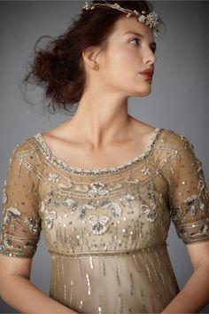 very turn of the century, romantic victorian dress