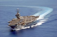 USS Carl Vinson... My brother's carrier