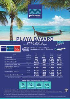 Super Oferta Playa Bávaro Cadenas Iberostar, Riu y Barcelo - http://zocotours.com/super-oferta-playa-bavaro-cadenas-iberostar-riu-y-barcelo-2/