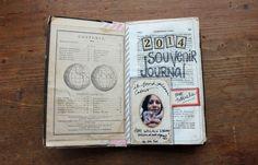 Old Book Souvenir Journal Creation