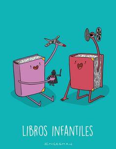 Libros infantiles. Ingesman.