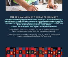 Middle management skills Middle Management, Senior Management, Time Management Skills, Change Management, Finding The Right Career, Business Ethics, Communication Skills, Emotional Intelligence, Find A Job