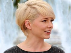 """I think this would be the perfect """"short"""" for me--longer pixie cut."""