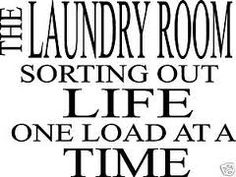 laundry room signs - Google Search