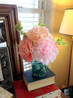 diddle dumpling: Tutorial: Coffee filter flowers these would look great for spring :)