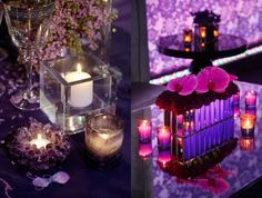 Wedding Centerpieces and Candle Decorations by Colin Cowie Weddings