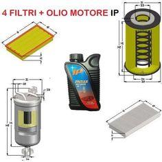 KIT FILTRI + 5L OLIO AUDI A4 2.0 TDI 103 KW 140 CV MOT. BPW BRC DA 11/04 A 09/98